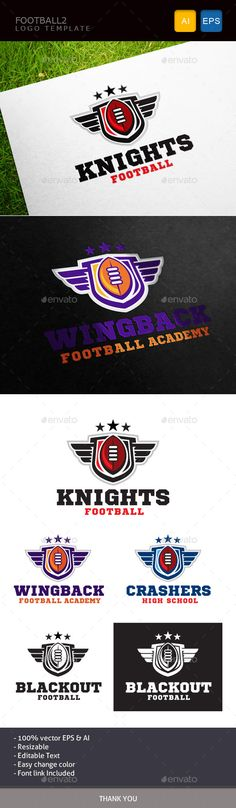 Football II — Vector EPS #touch down #academy • Available here → https://graphicriver.net/item/football-ii/11086642?ref=pxcr
