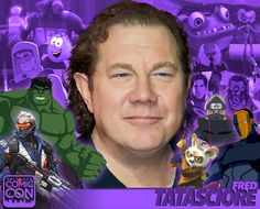 *PIN to WIN* Meet voice actor Fred Tatasciore at #SLCC16! Hulk in Marvel animation, video games, & more! #utah