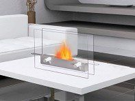 Anywhere Fireplace - Wall Mounted Fireplace and Contemporary Fire Pit