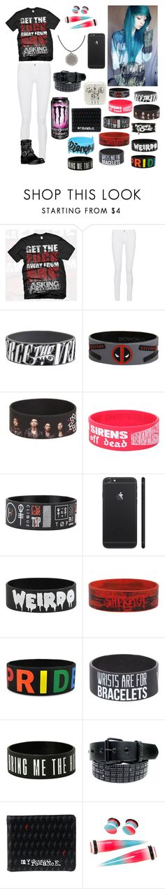 """""""Untitled #81"""" by thugpug887 ❤ liked on Polyvore featuring Frame Denim and Valentino"""