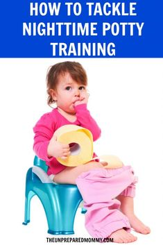 Follow these nighttime potty training tips for your child and you will be well on your way to a dry morning.