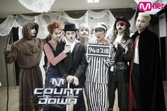 "It's October 30, and we all know what that means – it's time for Halloween! For this week's ""M!Countdown,"" male group BTS, Secret's Song Ji Eun, and MC Jung Joon Young decided to get in the Halloween mood by dressing up in fun, even slightly creepy, costumes. The ..."