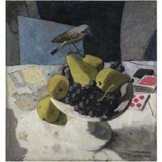 Felice Casorati, Frutta O Natura Morta, 1930