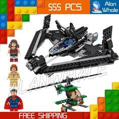 28.99$  Watch now - http://aiq7d.worlditems.win/all/product.php?id=32639170642 - 555pcs Batman vs Superman Bela Marvel DC Comics Sky High Battle DIY Building Blocks Compatible with Lego