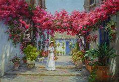 Luis Claudio Morgilli/Brasil Landscape, Painting, Frames, Brazil, Impressionist, Magick, Paintings, Dressmaking, Colors