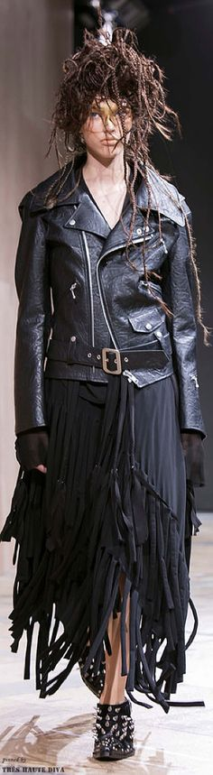 #Paris FW Junya Watanabe Spring / Summer 2014 RTW--I think I would look really good in this (NOT)--