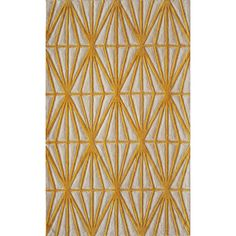 Circuit Area Rug - Gold