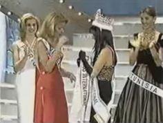 Miss Venezuela Internacional Consuelo Adler, se Convierte en Miss International 1997 en Japon.. 2da Venezolana en lograr coronarse.. by Antoni Azocar..