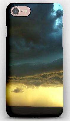 iPhone 7 Case Clouds, Volume, Hurricane