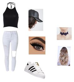 """""""Views"""" by amiah-stewart ❤ liked on Polyvore featuring adidas, DRAKE, views and 60secondstyle"""