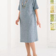 簡単に作れる!夏に着たいシンプルなワンピースの作り方(ファッション) | ぬくもり