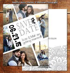 Save the Date Card | Wedding Card | Bridal Card | DM3074