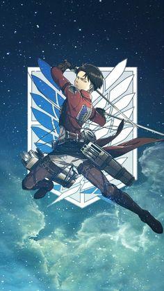 Levi Ackerman * Shingeki No Kyojin Wallpaper Manga Anime, Otaku Anime, Anime Guys, Anime Art, Attack On Titan Episodes, Attack On Titan Fanart, Attack On Titan Levi, Levi Titan, Aot Wallpaper