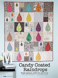 Candy Coated Raindrops Quilt Top | Flickr - Photo Sharing!