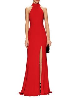 Cameo Turtleneck Gown from Jay Godfrey on Gilt
