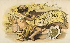 Free Vintage Clip Art - Cherub Cigar Box Label - The Graphics Fairy