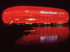 Allianz Arena is also home to two of the established football clubs of  Germany 5a353c6e432