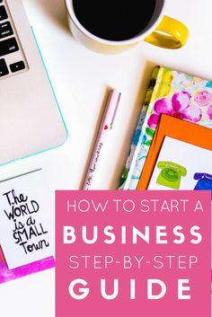 Business checklist: step-by-step guidance to get your new business off the ground.