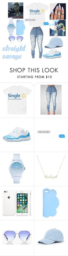 """""""Molly Brazy- 2 Faced"""" by zyriajones ❤ liked on Polyvore featuring NIKE, Lacoste, STELLA McCARTNEY, Boohoo and Sole Society"""