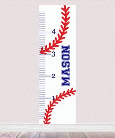 Three Ps In A Pod Baseball Laces Personalized Growth Chart Decal Wood Projects, Projects To Try, Growth Ruler, Puzzle Frame, Personalized Growth Chart, Growth Charts, Chalk Paint, Wood Signs, Baby Gifts