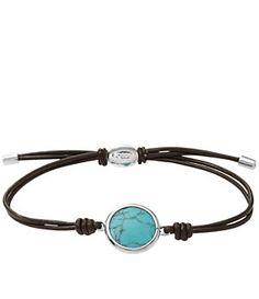 Fossil Seaside Cord Bracelet