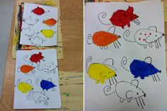 Primary Colors | Mouse Paint