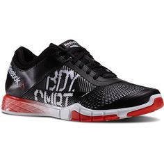 Men's Reebok Les Mills Touchlite BODYCOMBAT - WHITE / BLACK / CHINA RED