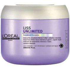 +13,17€ para alisar cabello Mascarilla Liss Unlimited - 200 ml