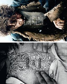 Mithril: As light as a feather and as hard as dragon scales. #lotr #thehobbit