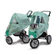 Stroller Weather Shield/Rain Cover (Green)