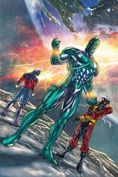 Genis-Vell screenshots, images and pictures - Comic Vine