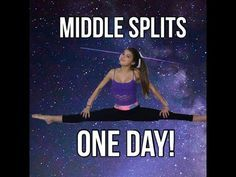 How To Get Middle Splits | Straddle, Middle Splits, Turn Out| Stretching Routine - YouTube
