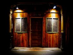 The Seattle Underground: Underground Doors - an abandoned city under Seattle, Washington, USA.