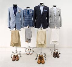 Design your own suit, jacket, trouser or shirt.