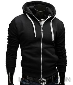 Men's sports wear Hoodie   #sport #black #white #running #sexy #tracksuit #excersice #womens #jumper #fashion