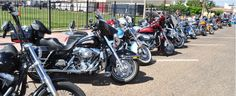 Lubbock, TX - April 27: 15th Annual Blue Ribbon Rally Car & Bike Show. primary fundraiser for Family Guidance & Outreach Center of Lubbock, a non-profit agency working to prevent child abuse and neglect.
