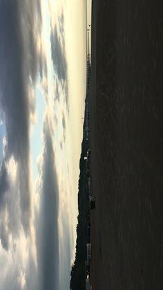 Latvia has a long coast with the Baltic Sea and the Gulf of Riga. Sea Video, Baltic Sea, Europe Destinations, Rainy Days, Cn Tower, Coast, Clouds, Building, Beach