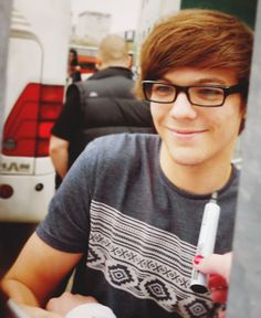 LOVE it when he wears his glasses