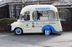 Bedford CA Ice Cream Van.