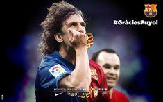 Els cinc fons d'escriptori de Carles Puyol | FC Barcelona