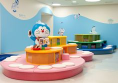 Doraemon Museum — We have variety of enthusiastic facilities from exhibition room with Fujiko·F·Fujio's original pictures, manga reading room, theater room  where films that could not be watched at any other places, field where  you could meet with manga characters, cafeteria where visitors may enjoy  our original menu, to souvenir shop full of attractive items. We will assure that every visitor will definitely enjoy our facilities and will be surprised how quickly the time flies in our