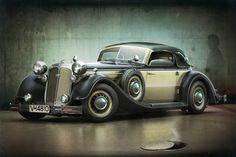 Horch 853a 1930s La Elegancia del Pasado
