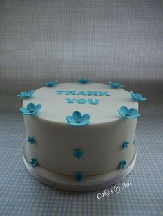 05 2011 - St Marie's thank you cake 001 (w) by Cakes By Ade (from Ade's Piccies), via Flickr