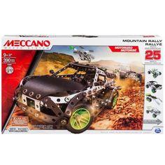 Juguete MECCANO 25 MODELOS MOTORIZADO RALLY Precio 63,02€ en IguMagazine #juguetesbaratos