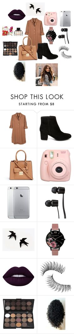 """Untitled #133"" by dariana-stoiu on Polyvore featuring United by Blue, Steve Madden, Michael Kors, Fujifilm, Vans, Olivia Burton, Lime Crime and Trish McEvoy"