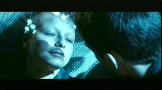 A look of... love.... salvation...from the pre cog, Agatha, played by  'Samantha Morton in 'Minority Report(The original of course)