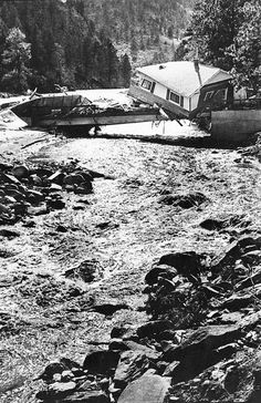 The Big Thompson flood of 1976 was the deadliest flash flood in Colorado's recorded history. It took 144 lives and injured 150.