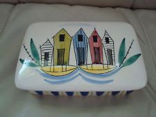 Stavangerflint Norway Inger Waage Fishing Village design lidded box