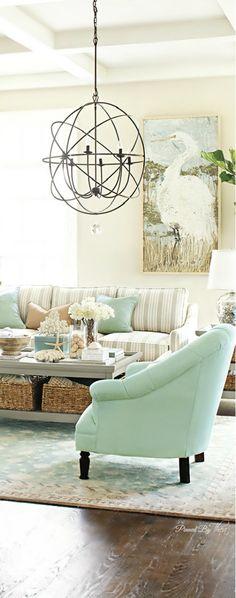 Coastal Comfort ● Living Room