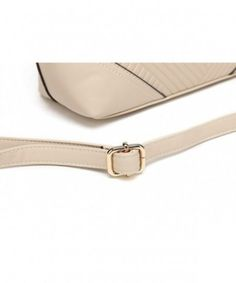 Satchel Bags for Women with 2 Compartments - Beige - CS18K3SZW9N